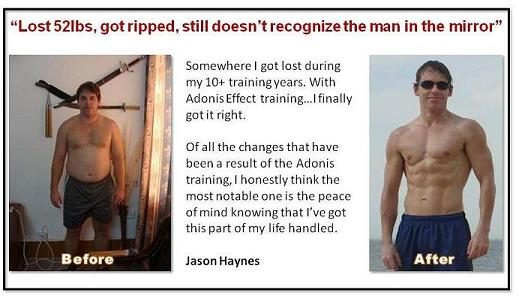 Jason Haynes Before and After
