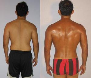 Al Sandoval - Adonis Index Contest Transformation Photos