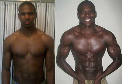 Nick Yarbrough - Adonis Index Contest Transformation Pictures