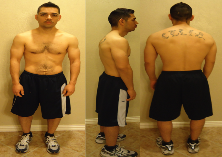 Saul Celis - AT10 8th Place- Before Photos