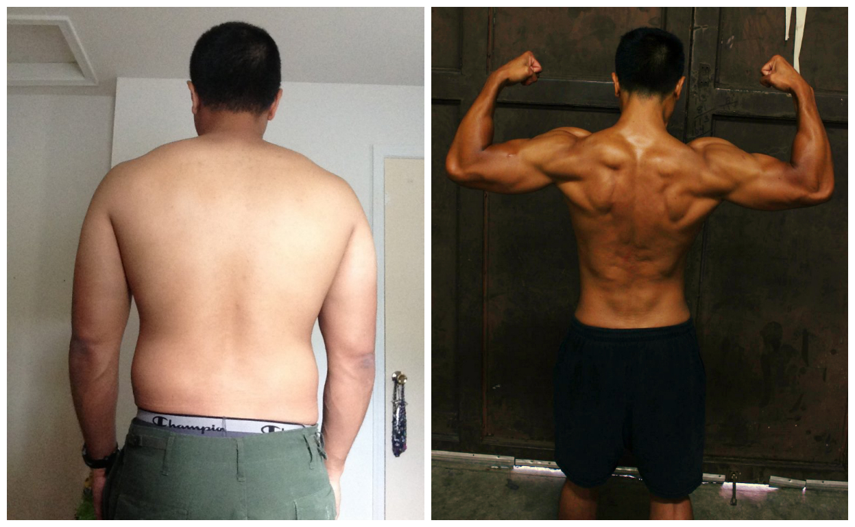 Michael B. - 1st Place - Back Before/After Photos