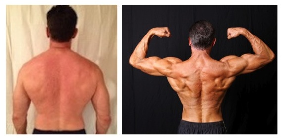 James Tonda - 2nd Place -  Back Before/After Photos