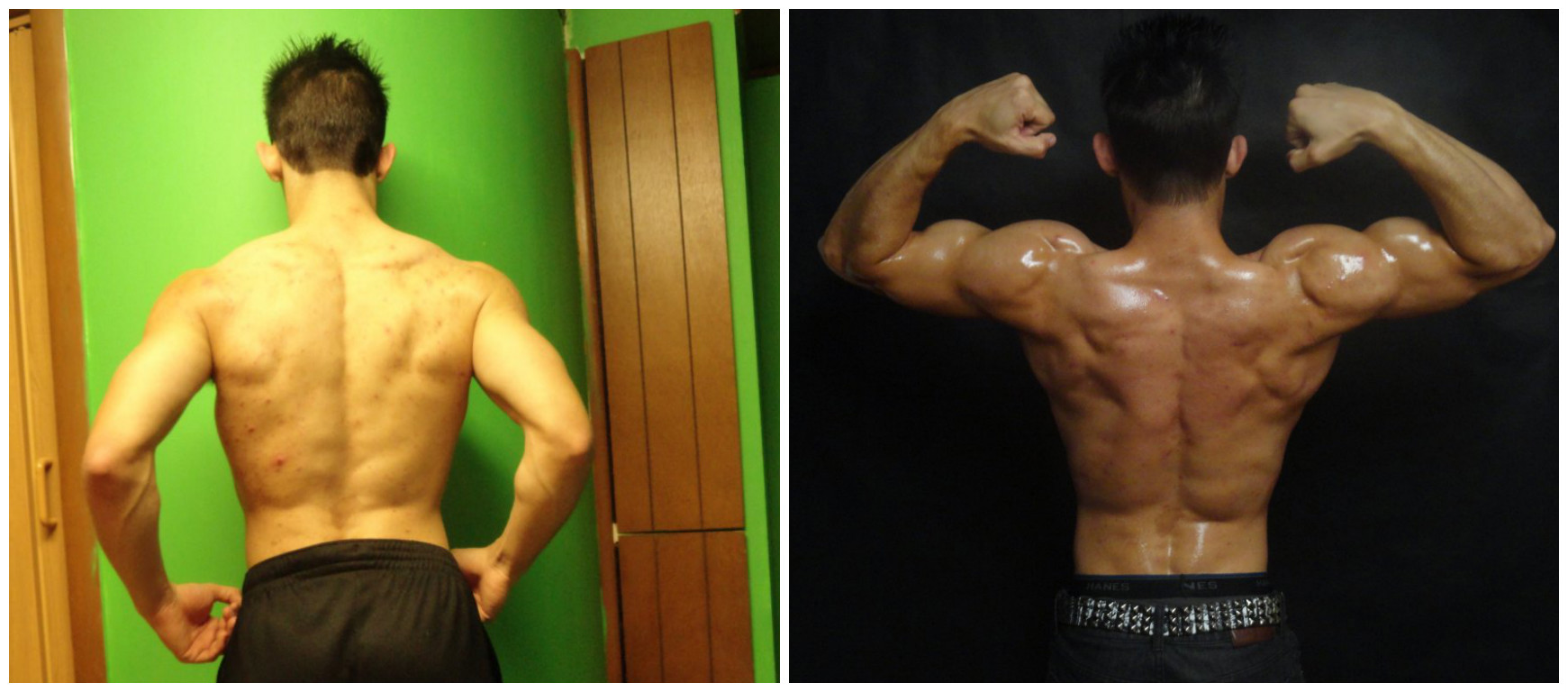 Lance Quenneville - 3rd Place - Back Before/After Photos