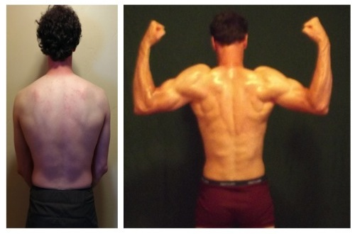 Timothy Olson - 4th Place -  Back Before/After Photos