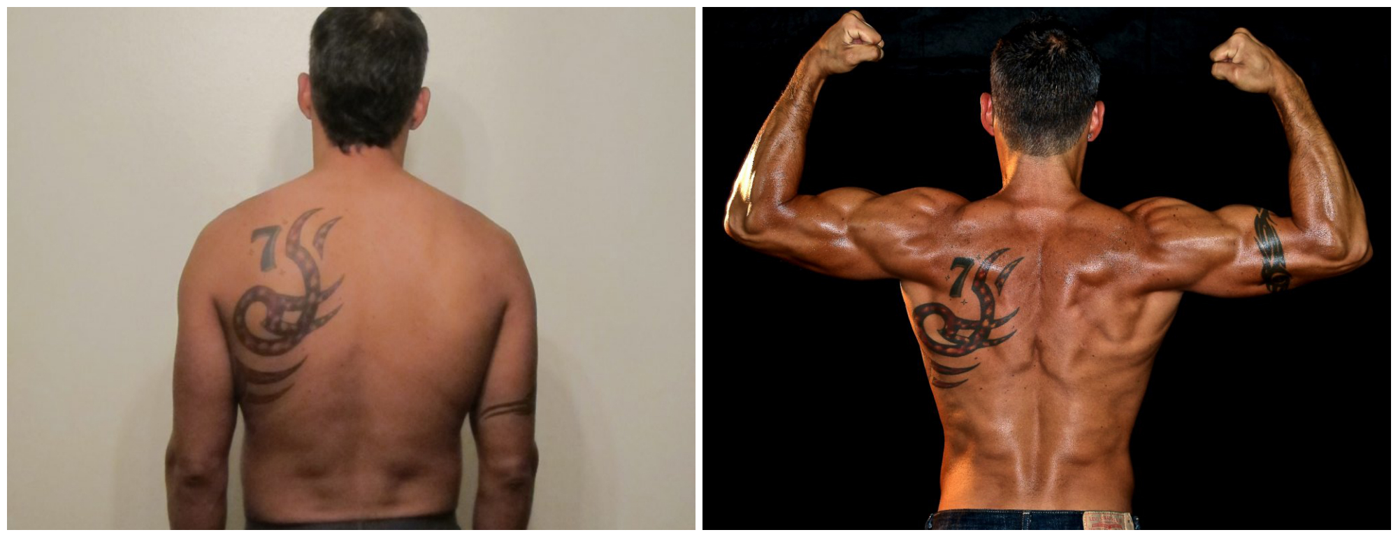 Daniel Carbonel - 7th Place - Back Before/After Photos