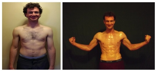 Timothy Olson - 4th Place -  Front Before/After Photos