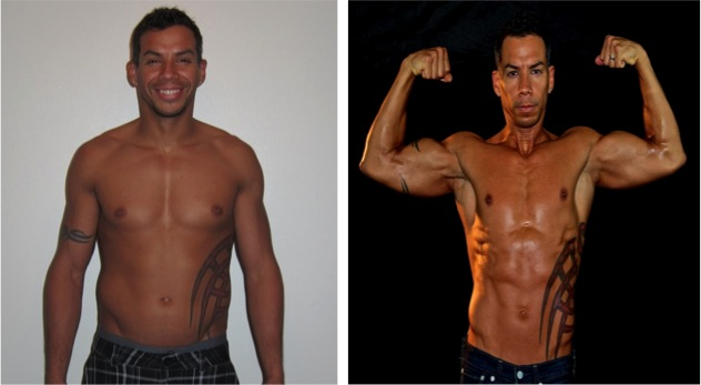 Daniel Carbonel - 7th Place - Front Before/After Photos