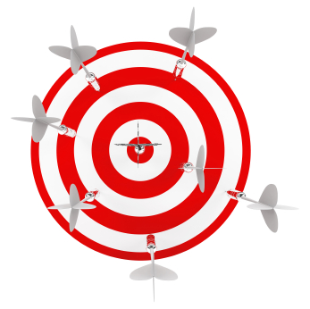 Once you get to your goal, your new model is you.  It is your proximity to the target.  You have a range you like to stay in.