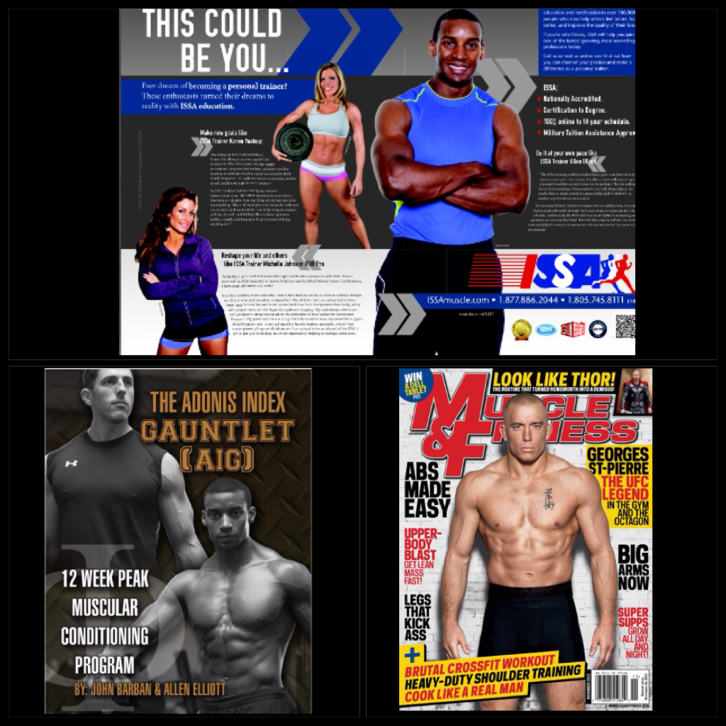 Adonis Lifestyle Ambassador: Allen Elliott | Featured in November 2013 Muscle & FItness