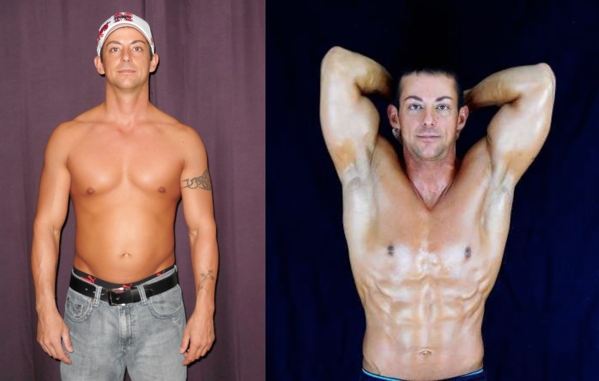 Chad Frakes 1st Place - Front Before/After Photos
