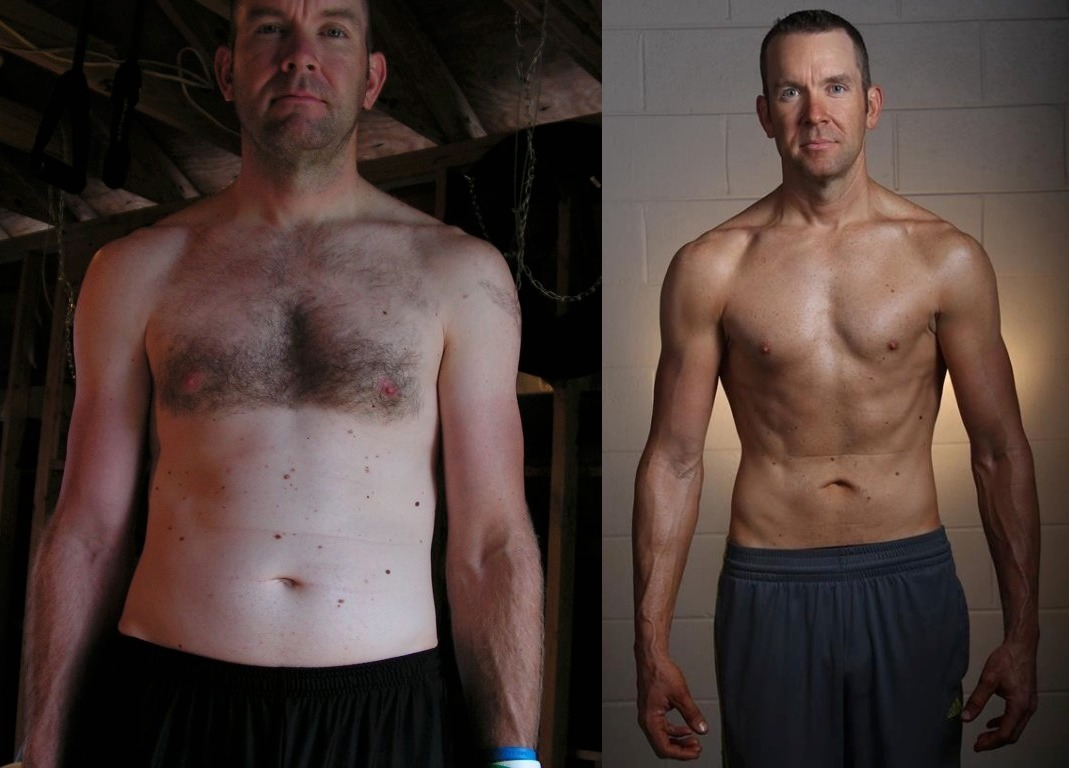 Joseph Riggs - 10th Place - Front Before/After Photos