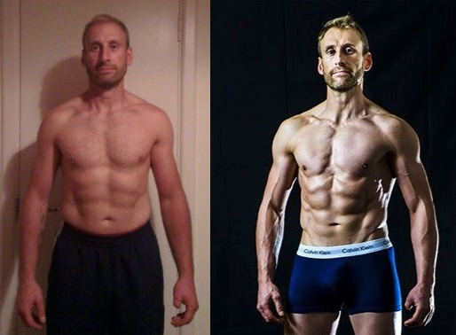 Jon McManus - 3rd Place - Front Before/After Photos