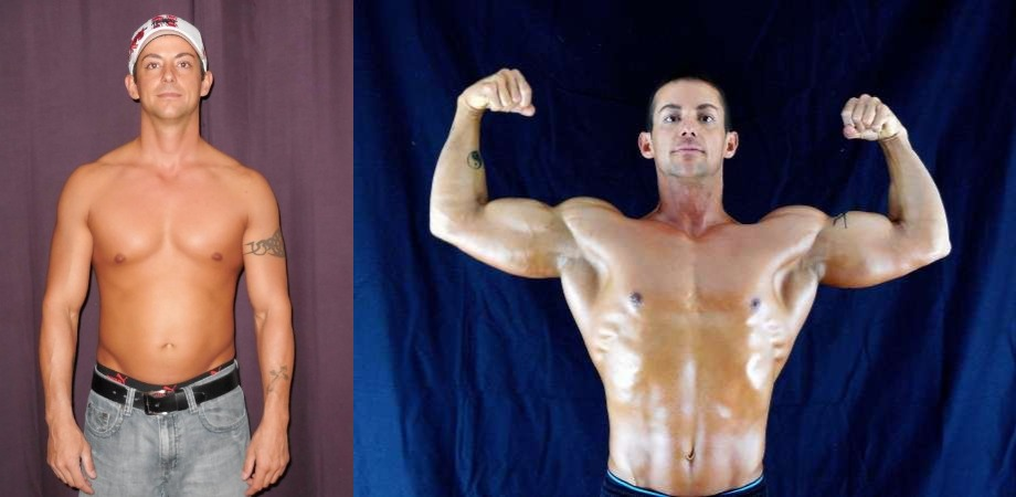 Chad Frakes - AT12 1st Place - Front Before/After Photos