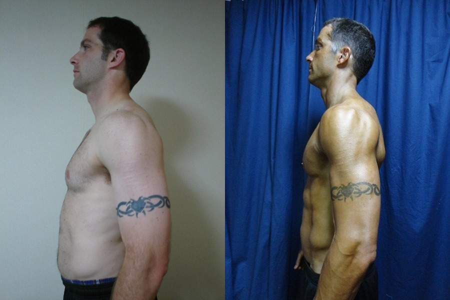 Keith Coomes - AT12 2nd Place - Side Before/After Photos