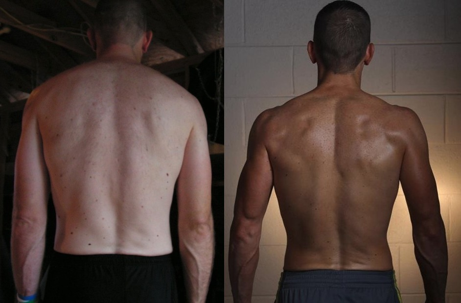 Joseph Riggs- AT12 10th Place - Back Before/After Photos
