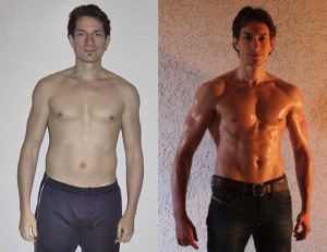Michael Rutz - 2nd Place - Front Before/After Photos