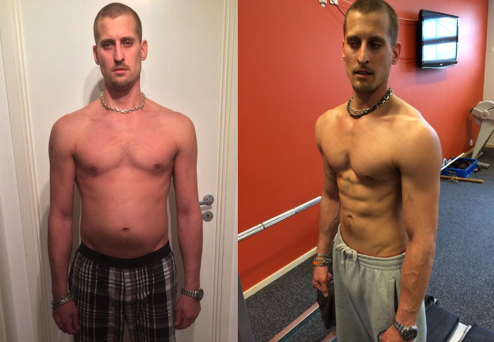 Robin Andersson - AT13 - 3rd Place - Front Before/After Photos