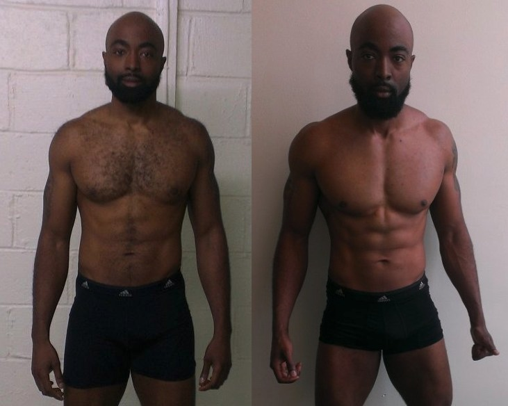 Ibrahiym Gladney - 4th Place - Front Before/After Photos