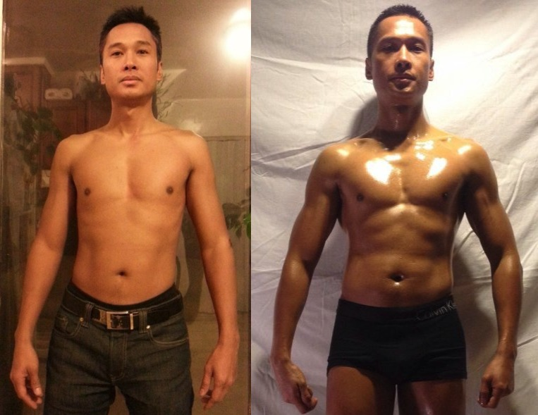 Noel Sibayan - AT-14 9tth Place - Front Before/After Photos