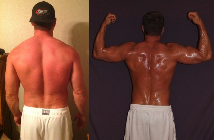 Richard Geary - 8th Place - Back Before/After Photos