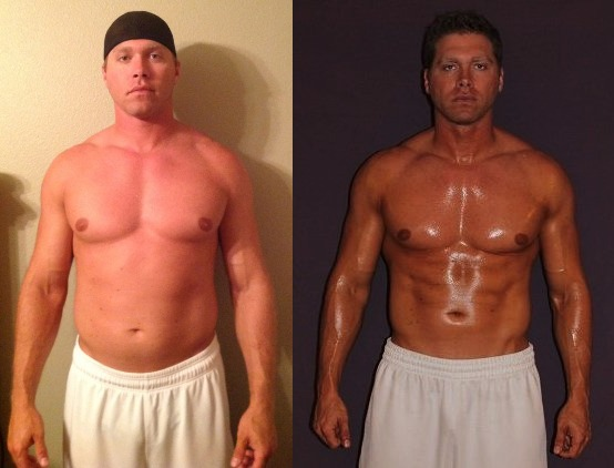 Richard Geary - AT 12 - 8th Place - Front Before/After Photos