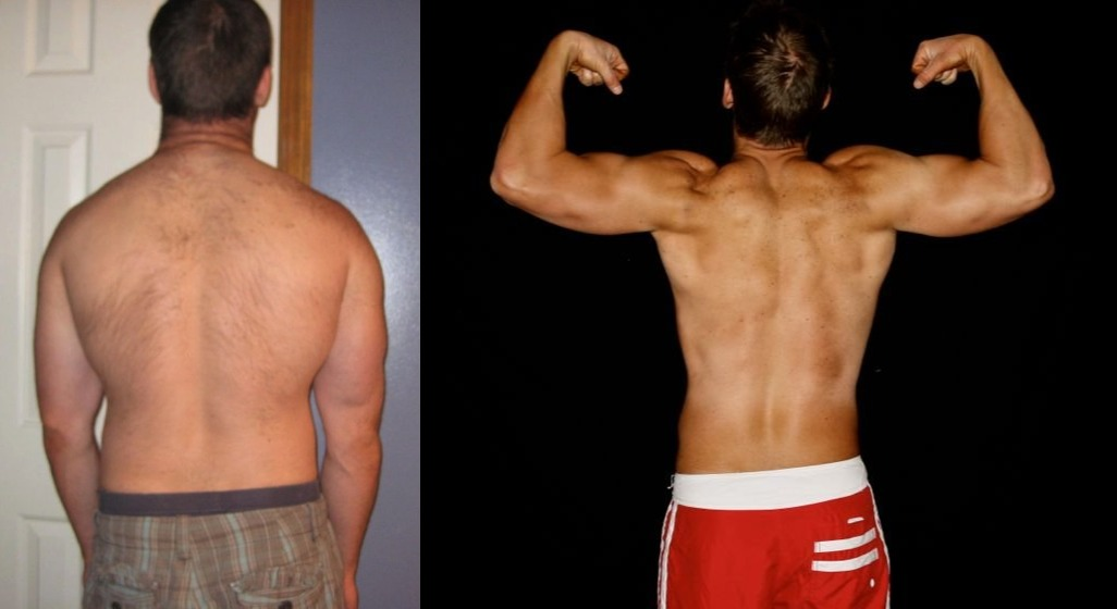 Tyson Harker - AT12 - 9th Place - Back Before/After Photos