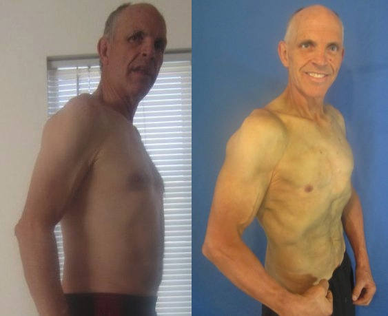 David Johansen - AT13 - 10th Place - Side Before/After Photos