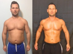 Jim Ferneyhough - AT14 4th Place - Front Before/After Photos