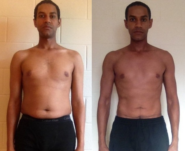 Ream Kidane 8th Place - Front Before/After Photos