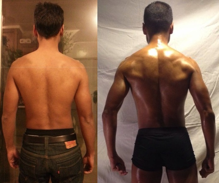 Noel Sibayan - AT-14 - 9th Place - Back - Before/After Photos