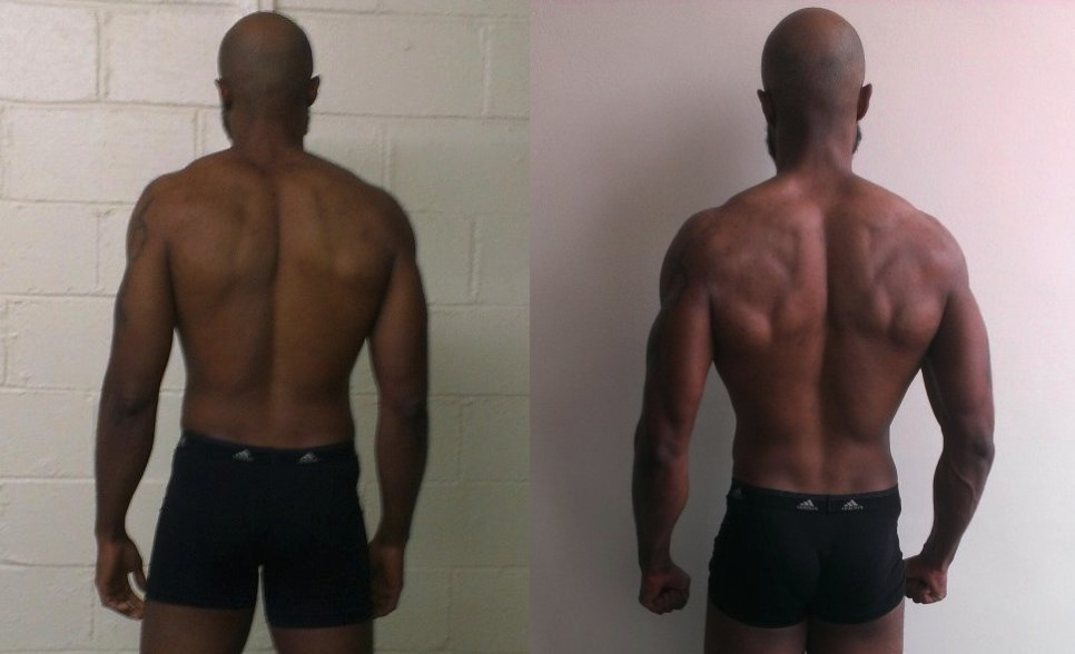 Ibrahiym Gladney AT13- 4th Place - Back Before/After Photos