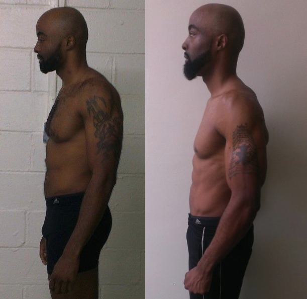 Ibrahiym Gladney AT13- 4th Place - Side Before/After Photos