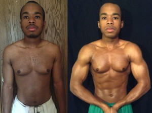 Elijah Smith 7th Place AT15 - Front Before/After Photos