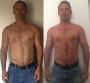Leon Perales - Front Before/After Photos