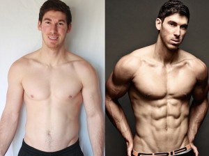Eric Weinbrenner - AT16 1st Place Front Before/After Photos