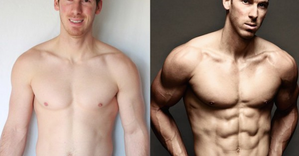 Eric Weinbrenner - Front Before/After Photos