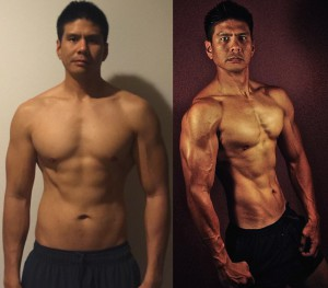 Renne Ramirez - AT16 2nd Place Front Before/After Photos