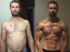Tristan Creswick - Front Before/After Photos