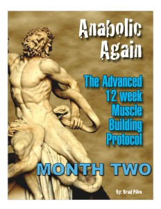 Anabolic Again Month Two: This was a Beast of Workout; Most Memorable!