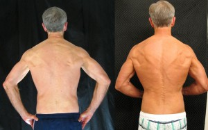 Brad V. 9th Place AT14 -  Back Before/After Photos