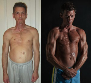 Louis Martinez - Front Before/After Photos
