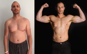 Jacques Grobler - Front Before/After Photos